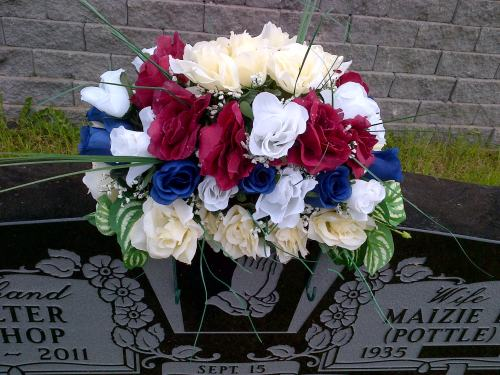 My Father's Grave Flowers